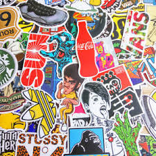 computer graffiti 50pcs vinyl graffiti creation stickers skateboard computer
