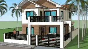 house design for 150 sq meter lot simple house plan designs 2 level home youtube