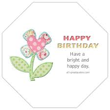 happy birthday have a bright and happy day animated birthday card