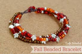 bead bracelet easy images Beaded bracelet with button clasp tutorial crafts unleashed jpg