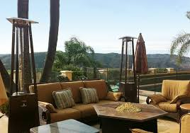 decor az patio heaters hlds cg portable patio heater bronze gold