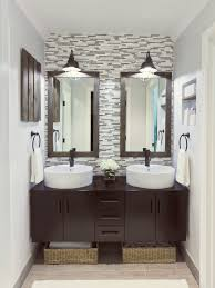 bathroom accent wall ideas bathroom mirrors with lights accent wall decorating ideas