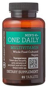 men s amazon com amazon elements men s 40 one daily multivitamin 67