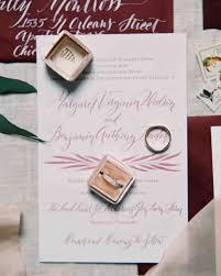 Rolling Wedding Invitation Cards Fall Wedding Invitations From Real Weddings Martha Stewart Weddings