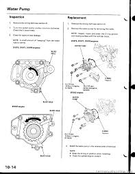engine coolant honda civic 1997 6 g workshop manual