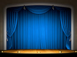 Blue Curtains Blue Curtain Background Decorate The House With Beautiful Curtains
