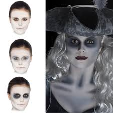 ghost make up halloween fancy dress and party