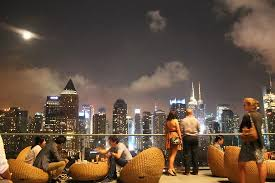 Roof Top Bars In Nyc Sky Line Desde Rooftop Bar Picture Of Kimpton Ink48 Hotel New