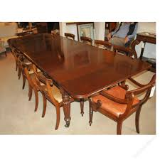 large extending dining table 14 seater 13 u00276 antiques atlas