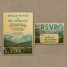 mountain wedding invitations mountain wedding invitations alaska or any locale vtw nifty