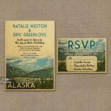 mountain wedding invitations mountain wedding invitations alaska or any locale vtw nifty