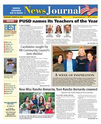 rancho berndardo news journal 03 30 17 by mainstreet media issuu