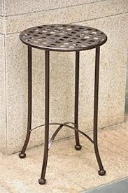 small outdoor accent tables round brown patio tables furniture the home depot inside side table