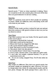 yr 5 6 speech punctuation by matthewgreg teaching resources tes
