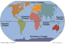Southern Ocean Map The Ocean By A M