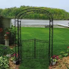 metal garden trellis arch home design inspirations