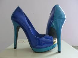 Cobalt Blue High Heels Free Images Heel Woman Leather Feet Female Leg Model