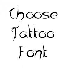 calligraphy fonts for tattoo font generator
