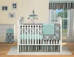 Black Floral Bedding Neutral Crib Set The Pooh Theme Blue Navy Thick Blanket Black