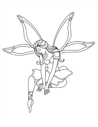 marvelous best tooth fairy coloring pages wall picture