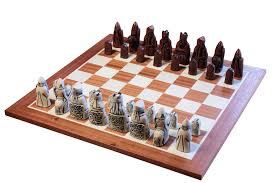 Chess Table by Buy The Isle Of Lewis Ivory And Teak Chessmen U0026 Mahogany Chess