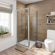 Shower Tray And Door by Orchard 6mm Pivot Door Rectangular Shower Enclosure Victoriaplum Com