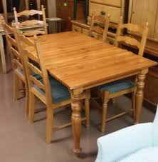 set dining room table rustic pine dining set seating 4 with southwestern carvings oval