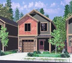 house plans narrow lot 13 best house plans images on home narrow lot house