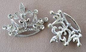 chair sash buckles crown rhinestone chair sash band buckles wedding