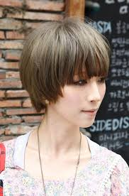 midway to short haircut styles medium hairstyles with blunt bangs 2014beautiful bowl cut with