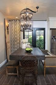 Door Dining Room Table Eclectic Dining Room With Laminate Floors By Lukas Machnik
