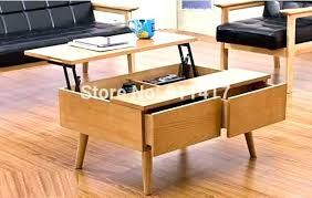 Lift Up Coffee Table Pop Up Storage Coffee Table Lifeunscriptedphoto Co