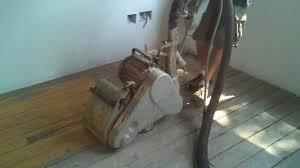 sanding a 100 year old douglas fir barn floor with a clarke