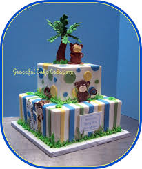 safari themed baby shower cake grace tari flickr