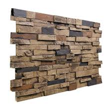 decor tile panels faux stone wall for home decoration ideas
