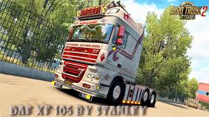 skin pack new year 2017 for iveco hiway and volvo 2012 2013 daf xf 105 v1 6 1 by stanley mega skin pack 1 27 x download
