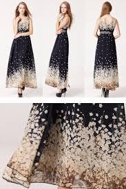 casual ankle length dress women print bohemian lace dress big plus