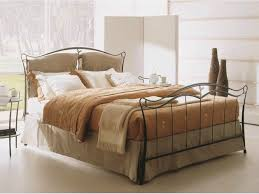 bedroom furniture wrought iron bed frame metal double bed iron