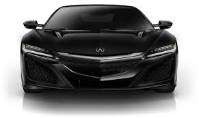 2017 acura nsx interior and exterior color options