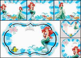 free mermaid party printables mandy u0027s party printables
