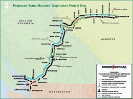 Edmonton Canada Map Energy Upside Kinder Morgan U0027s Trans Mountain Pipeline Expansion