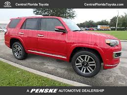 2018 new toyota 4runner limited 4wd at central florida toyota