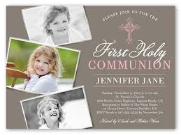 communion invitations for girl communion cross girl 6x8 communion invitations shutterfly
