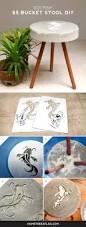 diy remix koi fish 5 bucket stool diy home tree atlas
