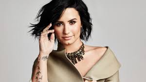 wallpaper laptop tattoo download wallpaper 1366x768 demi lovato singer photoshoot stylish