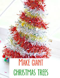 Large Christmas Ornaments For Tree christmas crafts for kids make giant christmas trees kids play box