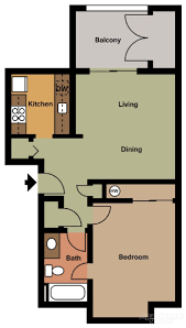 one bedroom floor plans for apartments 1 bed 1 bath apartment in gig harbor wa the 4425