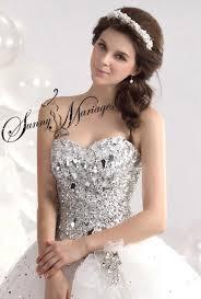robe de mari e princesse pas cher robe de mariage forme princesse blanche avec bustier coeur et