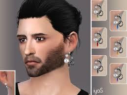 guys earing sims 4 earrings