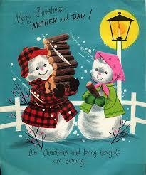 428 best vintage snowman cards images on pinterest vintage